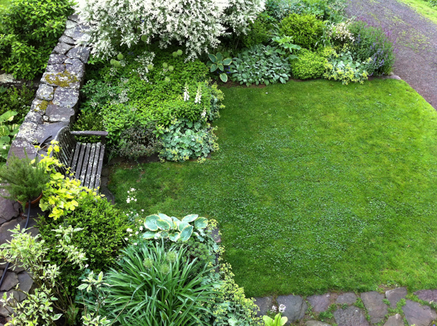 The virtue of less is more rooting for ideas for Garden designs for rectangular gardens