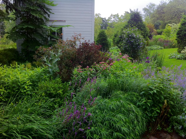 Ice house border- July