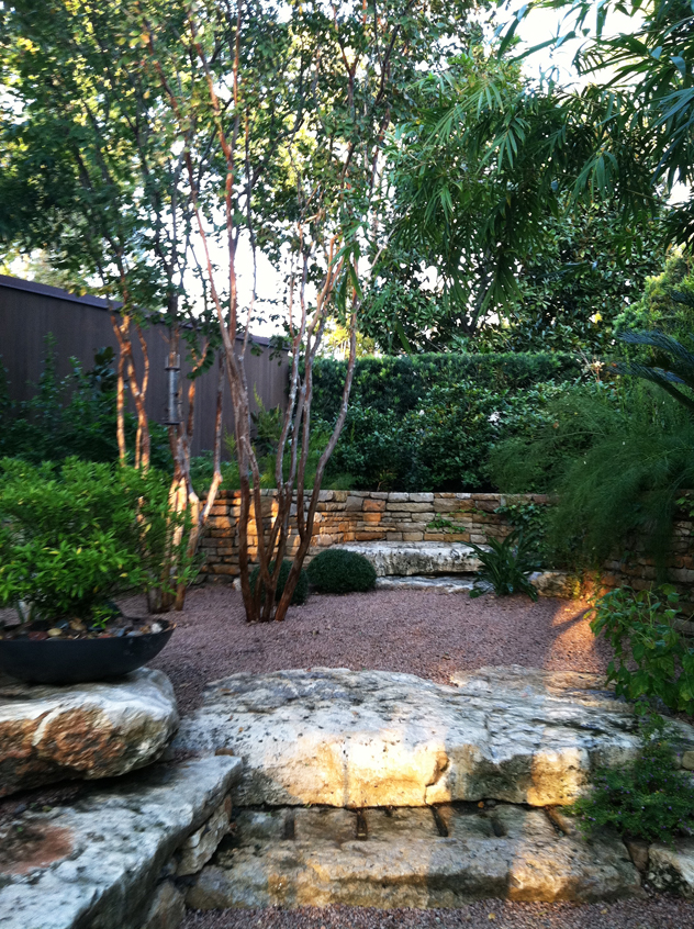 Intimate garden spaces