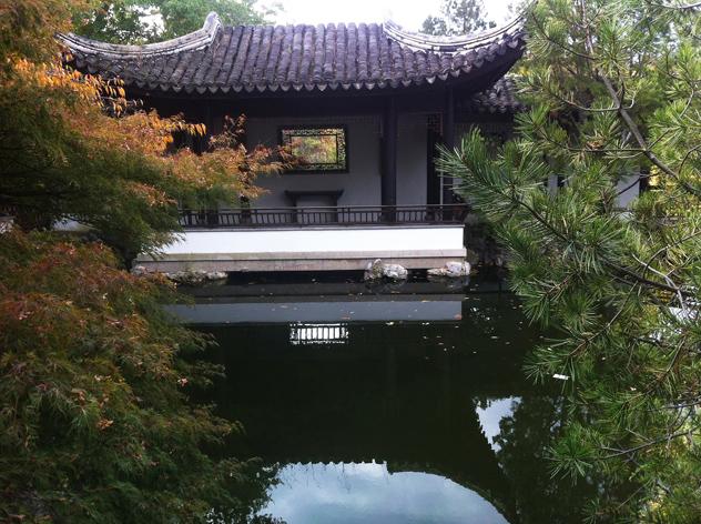 2. Scholar's Garden Borrowed view through open window2