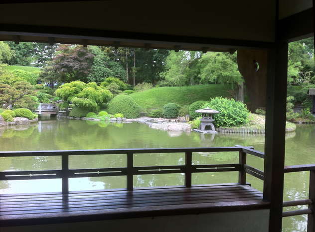 Japanese Garden at Brooklyn Botanic Gardens