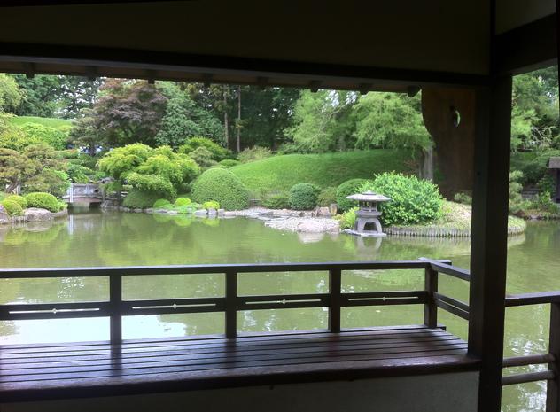 Japanese Garden at Brooklyn Botanic Gardens