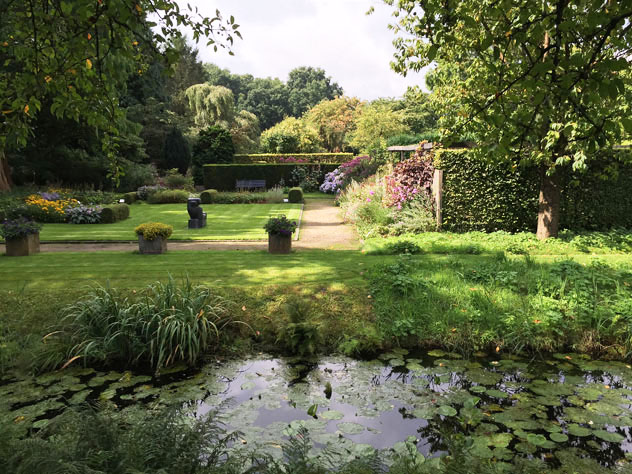 View From Canal Water Garden